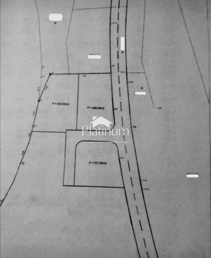 MEDULIN, zemljište na TOP poziciji pogled more 150m od mora