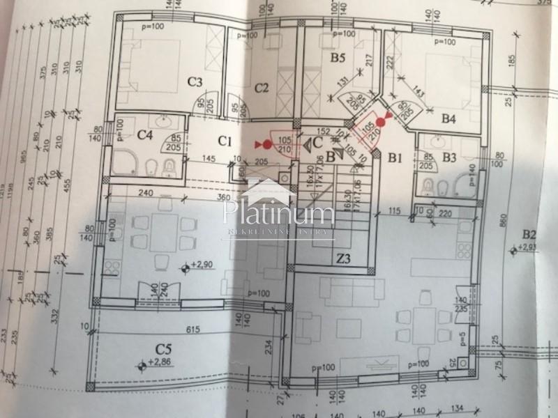 Istra, Pula, okolica, prekrasan stan na prvom katu, 60m2, NOVO!