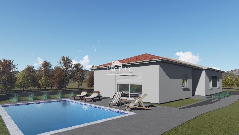 Istra, Šišan, okolica, kuća sa bazenom, 118m2, NOVO!!