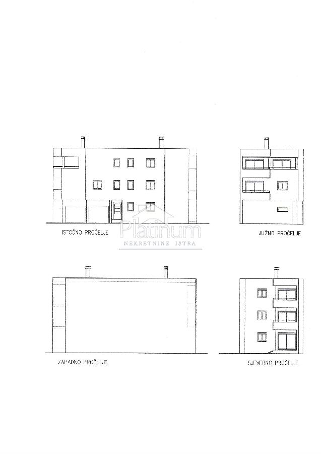 PULA - bliža okolica; 1. kat, 50,47m2 - NOVO, ODLIČNA LOKACIJA