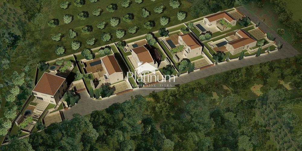 Ližnjan, Valtura; građevinsko zemljište s projektom - 6204m2