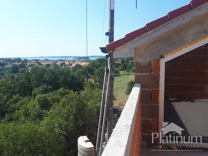 Istra Medulin apartman u izgradnji 1 kat 47,33m2 PRILIKA