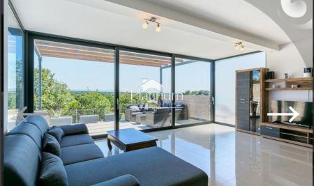 Istra, Ližnjan, apartma sa vlastitim bazenom+studio app, pogled more.