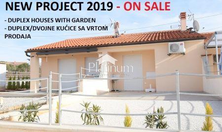 Istria, Barbariga, Peroj, beautiful duplex with garden, NEW 99000Eur