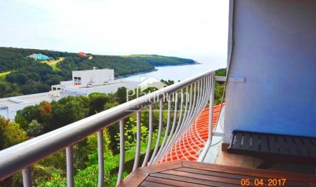 Istria, Duga uvala, beautiful apartment with sea view, renovated, furnished. OPPORTUNITY