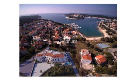 Pula, Pješćana Uvala, prizemlje 62,21m2 - luksuzna zgrada 150m od mora, pogled na more