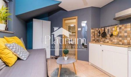 Istra, Pula, Vidikovac, simpatičan studio apartman sa vrtom/terasom od 14 m2