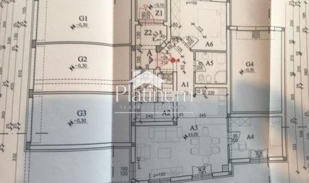 Istra, Pula, Monte Magno, prekrasan stan u prizemlju zgrade nove gradnje, 63m2