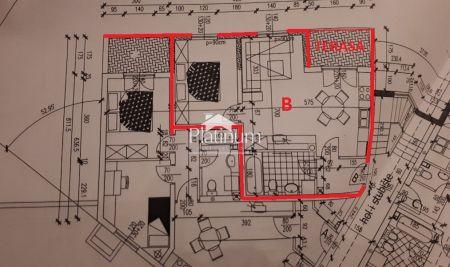 Pula, odlična lokacija, stan 1 kat 53,50m2 NOVO