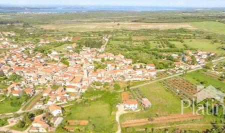 Istra, Galižana, zazidljivo zemljišče, pogled na morje 60eur m2