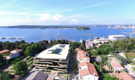 Istra, Pula, prekrasni stanovi vrhunske kvalitete na TOP lokaciji