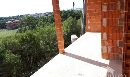 Istria Medulin, new apartment under construction, ground floor with garden, NEW