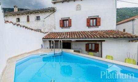 Istra, Centralna, Buzet, kuća sa bazenom