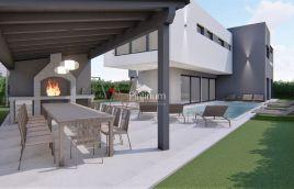 ISTRA, MEDULIN, villa sa bazenom za 18 osoba