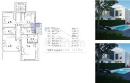 Istria, Vodnjan , bella villa moderna di alta qualità, nUOVO,