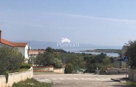 Istra, Ližnjan, građevinsko zemljište sa pogledom na more, 662m2